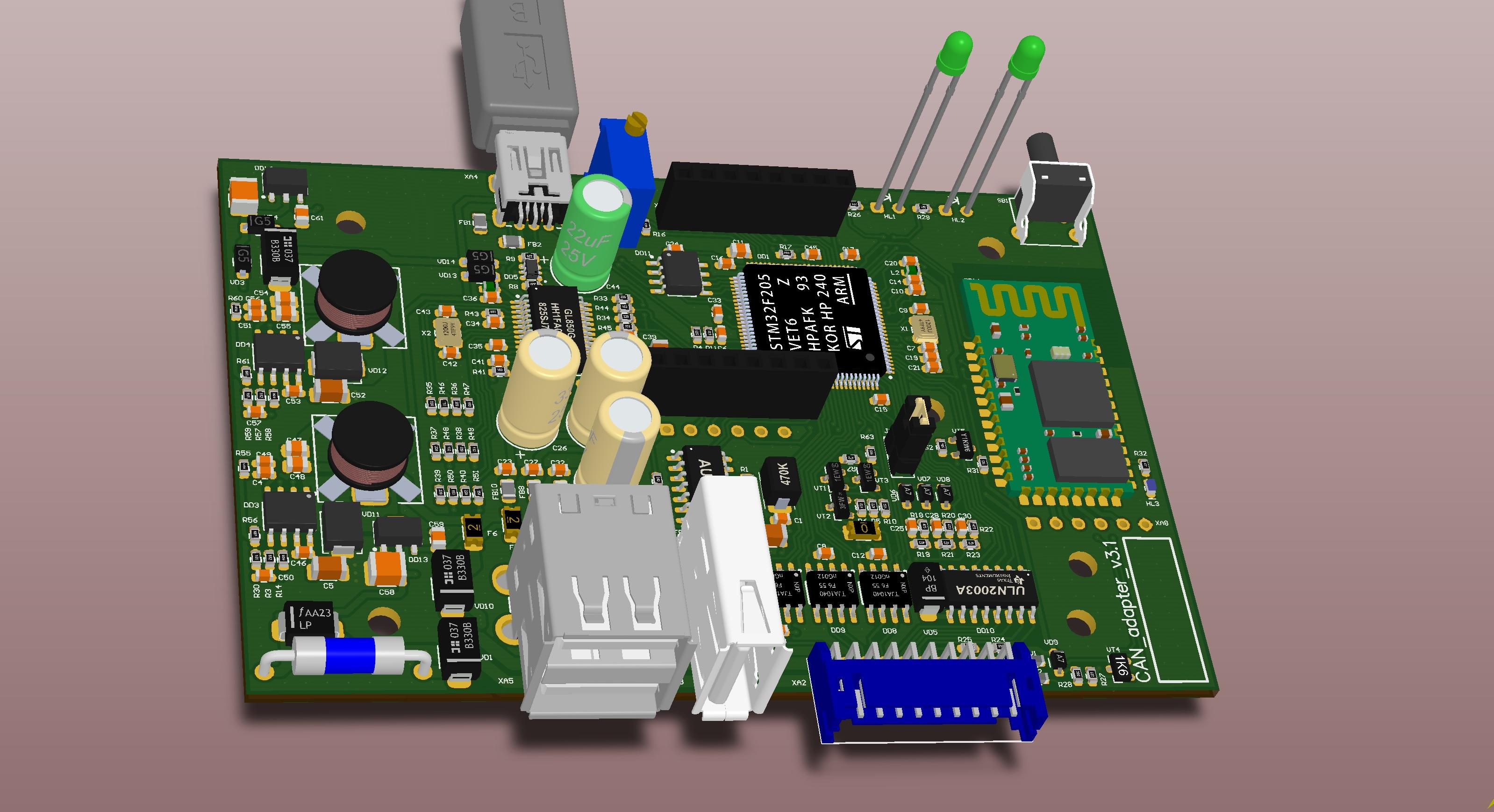 3D-модель нового адаптера
